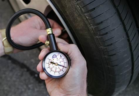 Фольксваген Поло, давление в шинах